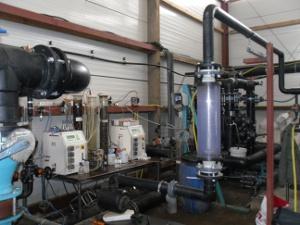Versuchsanlage: Grundwasserreinigung (Alkylphenolschaden)