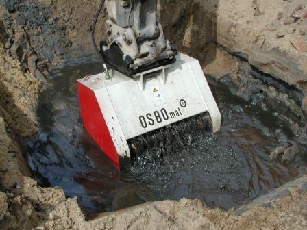 OSBOmat im Grundwasseranschnitt