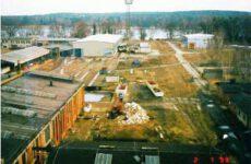 Ehem. Schwellenwerk Zernsdorf vor der Sanierung